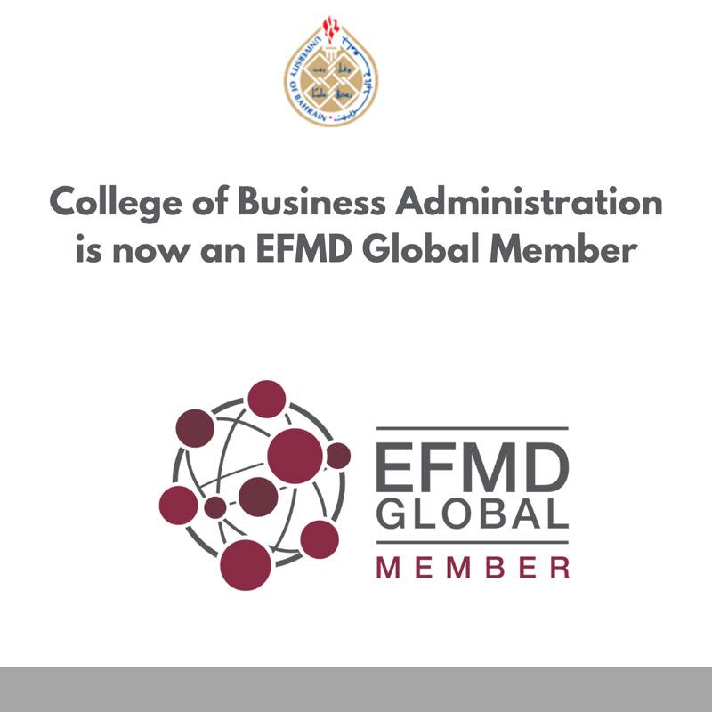 University of Bahrain joins the European Foundation for Management Development